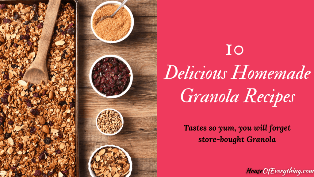delicious-homemade-granola-recipes