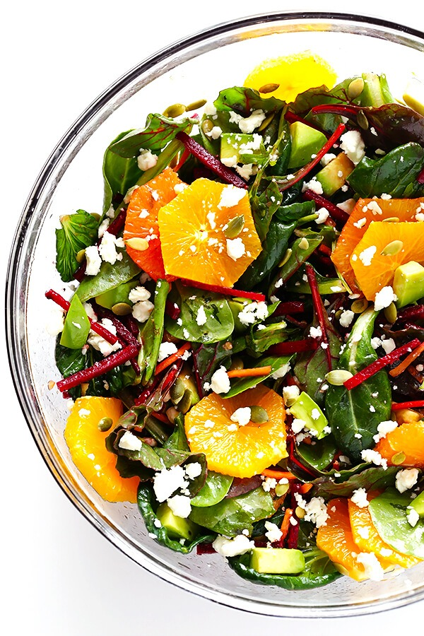 Beet-Orange-Green-Salad