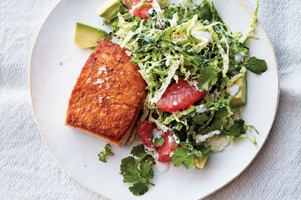 pan-roasted-salmon-grapefruit-cabbage-slaw