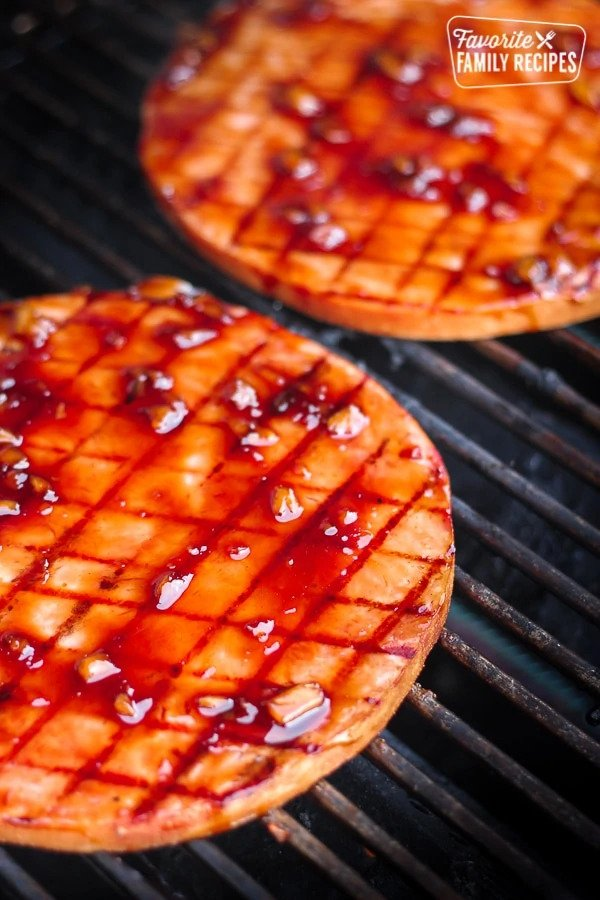 teriyaki-grilled-ham-steak